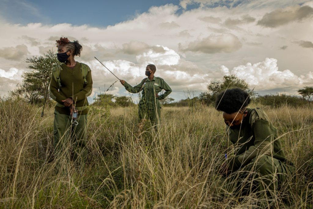 Women rangers work to keep lid on illegal game hunting