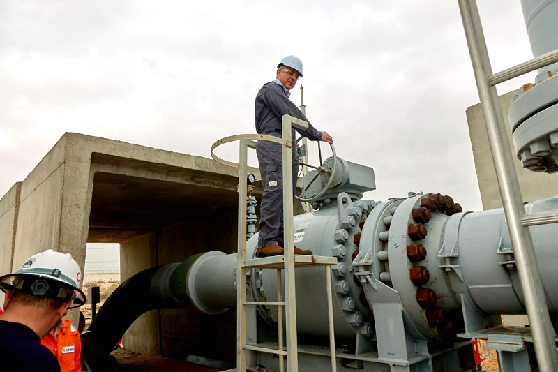 Israel set to send natural gas to Europe