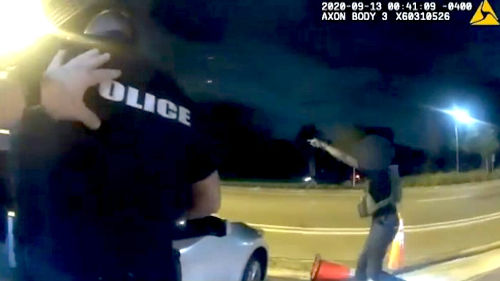 VIDEO: Police Dodge Bullets to Make Arrest