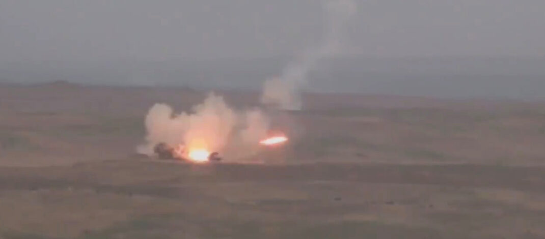 VIDEO: Armenia Blows Up Rival Azerbaijani Tanks As War Looms