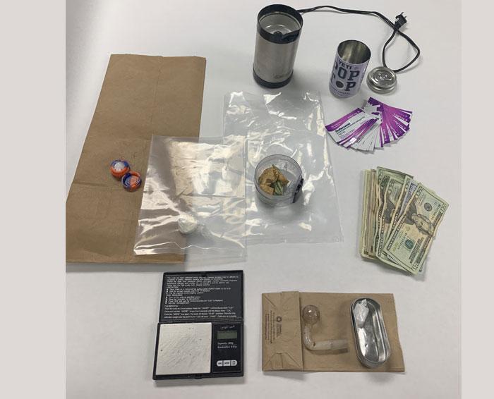 Narcotics Sales Arrest