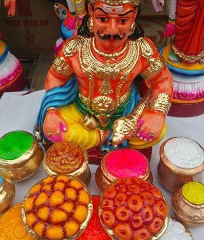Kolu Dolls Brighten Navaratri Festivities in South India