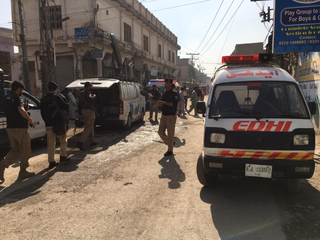 Blast Kills 7, Injures Dozens at Religious School in Pakistan's Peshawar